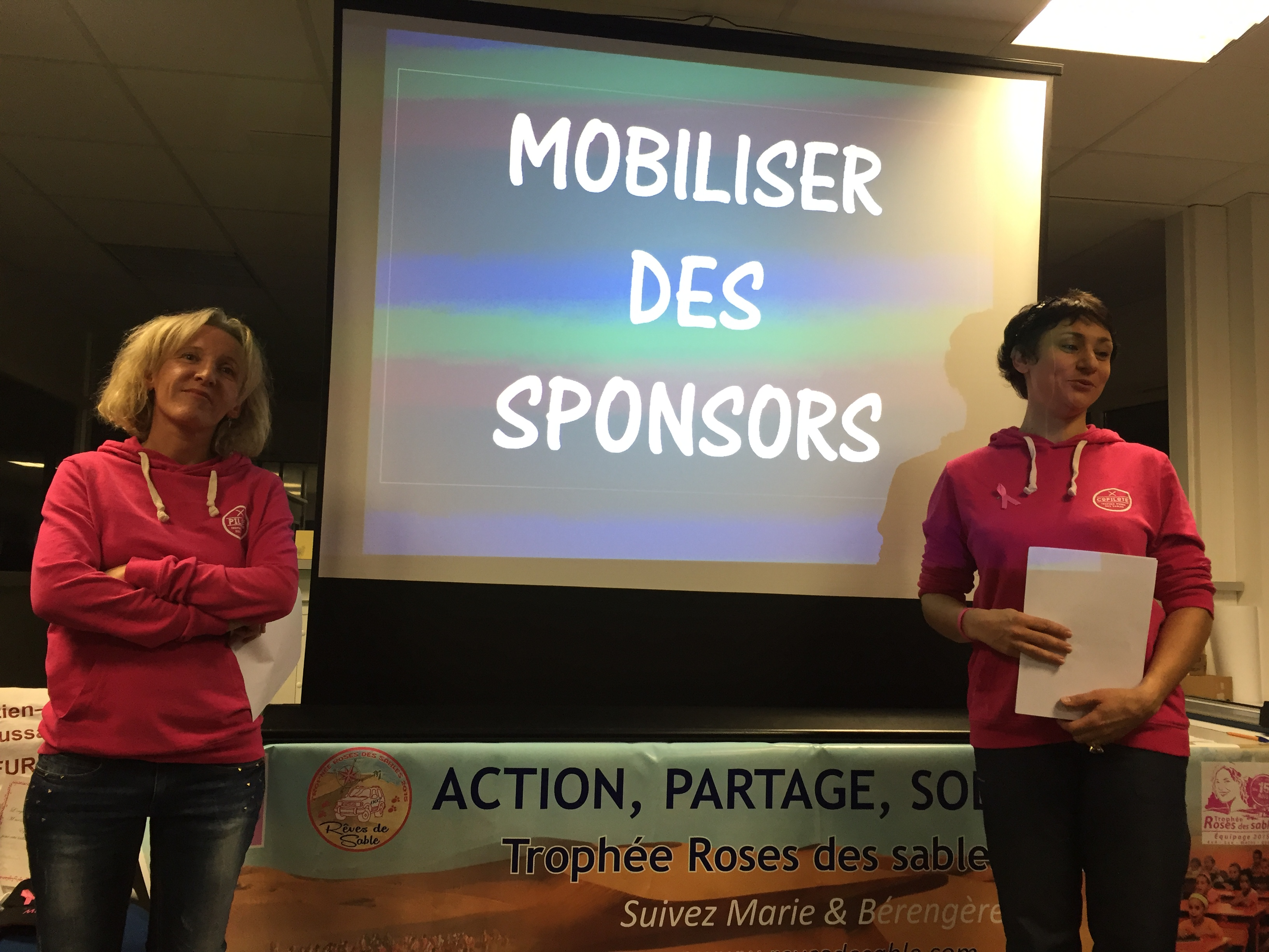 Mobiliser des sponsors : le bel exemple de l'équipe Rêves de sables