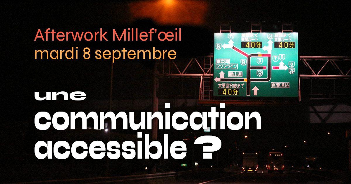 Une communication accessible? Pourquoi? Comment?